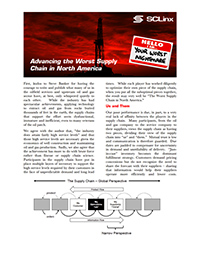 Advancing the Worst Supply Chian in North America 200w